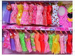 Набор Кукла модница с аксессуарами, 801A, игрушки
