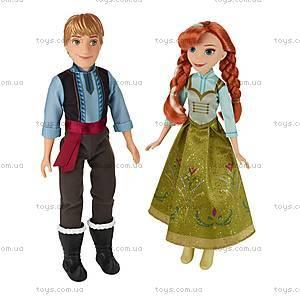 Набор кукол «Холодное Сердце. Анна и Кристоф», B5168, купить