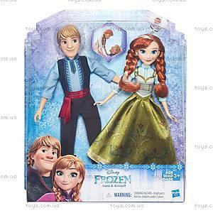 Набор кукол «Холодное Сердце. Анна и Кристоф», B5168