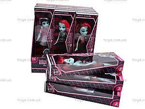 Набор кукол Monster High, 12 штук, 8828, детские игрушки