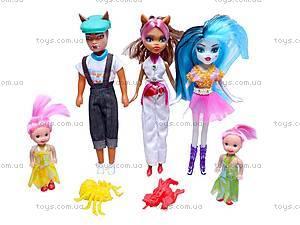 Набор кукол Monster High для девочек, 344-6A