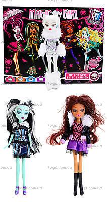 Набор кукол типа Monster High с аксессуарами, 0603