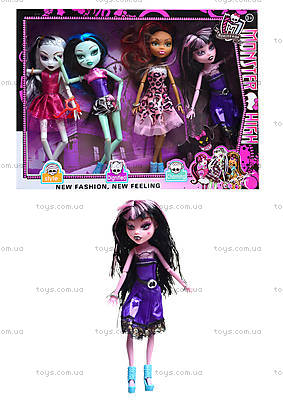 "Набор кукол ""Monster High"", с аксесс., в кор. 34,5х26х5 72, 8894-7"