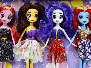 Игрушечная кукла-пони, 6 штук, 8031A, фото