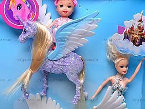 Набор кукол с лошадками, 66437, цена
