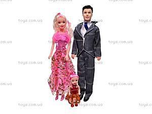 Набор кукол «Семья» для детей, 8891-E1