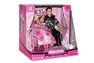 Набор кукол типа Семья Барби, на шарнирах, 60741AJW2-3