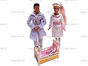 Набор кукол в костюме доктора, 20996