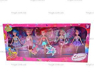 Набор кукол Winx, 5 штук, 63002, toys.com.ua