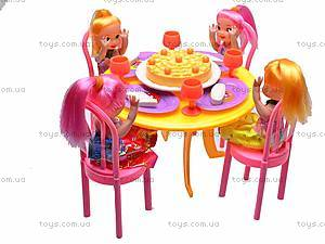 Набор куколок за столом, 9835