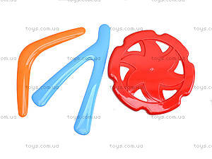 Набор летающих фигур «Бумеранг», 4036, детские игрушки