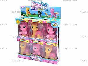 Набор лошадок пони, 2025D, игрушки
