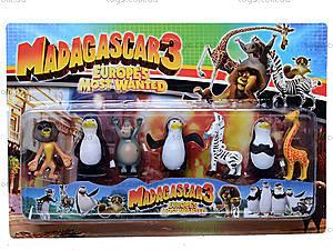 Набор «Мадагаскар», 7 героев, M8219, купить