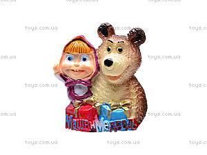 Набор магнитов «Маша и Медведь», 12 штук, 162, фото