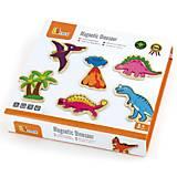 Набор магнитных фигурок Viga «Динозавры», 50289