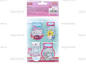 Набор магнитных закладок «Мишка Тедди», 704509, фото