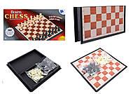 Набор для игры в шахматы и шашки, 8508, опт