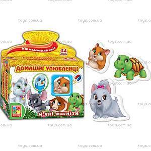 Набор магнитов «Домашние любимцы», VT3101-07, магазин игрушек
