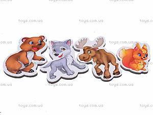 Набор магнитов «Лесные жители», VT3101-04, детские игрушки