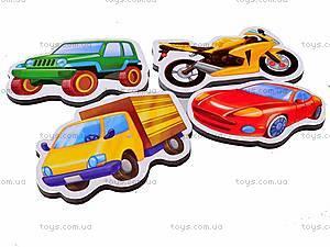 Набор магнитов «Транспорт», VT3101-06, детские игрушки