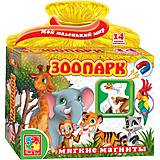 Набор магнитов «Зоопарк», VT3101-05, игрушки