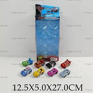 Набор маленьких машинок «Тачки», 3236C