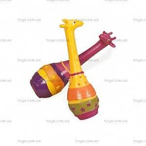 Набор маракасов серии Джунгли «Два жирафа», BX1251GTZ, купить