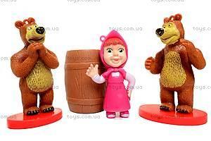 Набор «Маша и Медведь», 3 героя, M12024