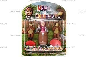 Набор «Маша и Медведь», 3 героя, M12024, купить