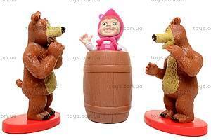 Набор «Маша и Медведь», 3 героя, M12024, фото