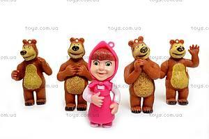Набор «Маша и Медведь», 5 игрушек, M12001