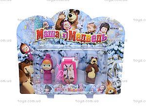 Набор «Маша и Медведь», с мобильным телефоном, R182A-3B, цена