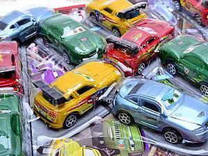 Набор машинок инерционных «Тачки», 669-4FB, детские игрушки
