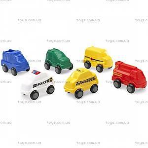 Машинка-мини «Городские службы», 1052