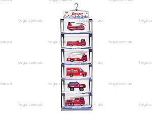 Набор машинок «Пожарная техника», 6103MS