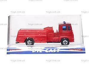 Набор машинок «Пожарная техника», 6103MS, фото