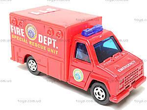 Набор машинок «Пожарная техника», 6103MS, магазин игрушек