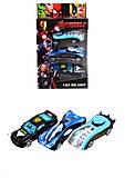 Машинки с картинками Супергероев, 666-3, фото