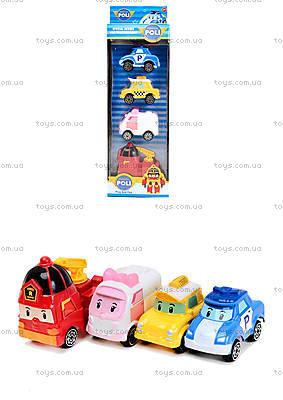 Набор игрушечных машин «Робокар Поли», 660-199