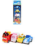 Набор игрушечных машин «Робокар Поли», 660-199, отзывы