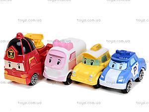 Набор игрушечных машин «Робокар Поли», 660-199, цена