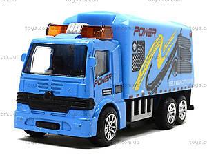 Игрушечный инерционный грузовик , TH638, фото
