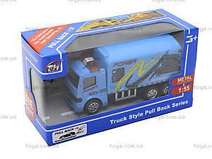 Игрушечный инерционный грузовик , TH638, детские игрушки