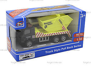Игрушечный инерционный грузовик , TH638, магазин игрушек