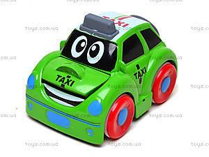 Металлическая машинка «Такси», 0783-54, игрушки