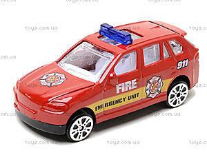 Набор металлических машинок «Пожарная команда», TH623, купить