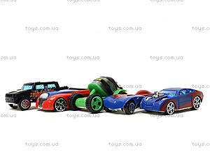 Набор игровых машинок «Супергерои», 5188-5, игрушки