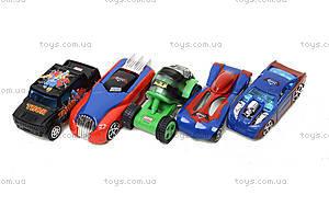 Набор игровых машинок «Супергерои», 5188-5, детские игрушки