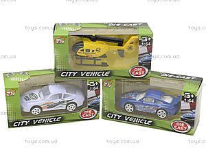 Металлическая модель «Городской транспорт», TH612, игрушки