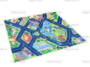 Набор машин «Полиция» с картой города, SQ80663-3, детские игрушки